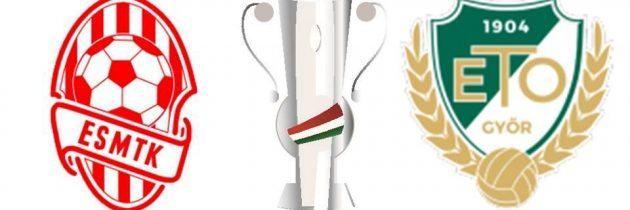 Magyar Kupa-mérkőzés a Győr ellen